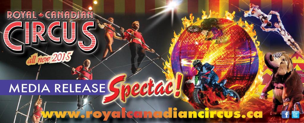 Royal Canadian Circus media release