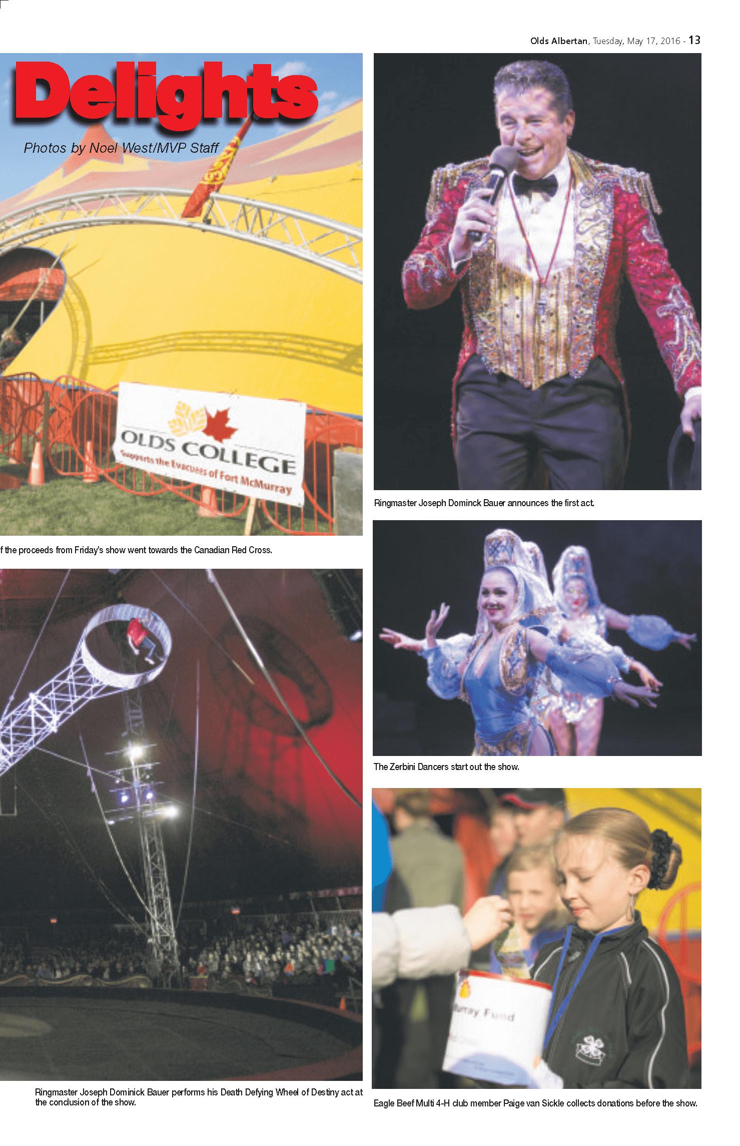 Olds Albertan Royal Canadian Circus  3